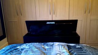 End Of Bed Tv Cabinet With Electrical Lift Mechanism