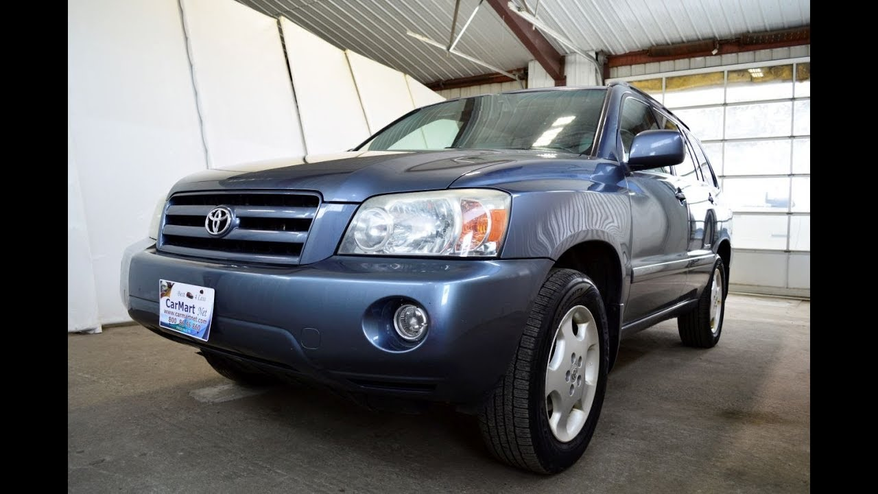 2007 Toyota Highlander Limited Awd Review By Carmart Net Fergus Falls