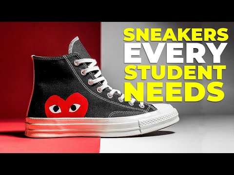 BEST SNEAKERS FOR SCHOOL | 6 Shoes Every Student Needs 2019 | Alex Costa thumbnail