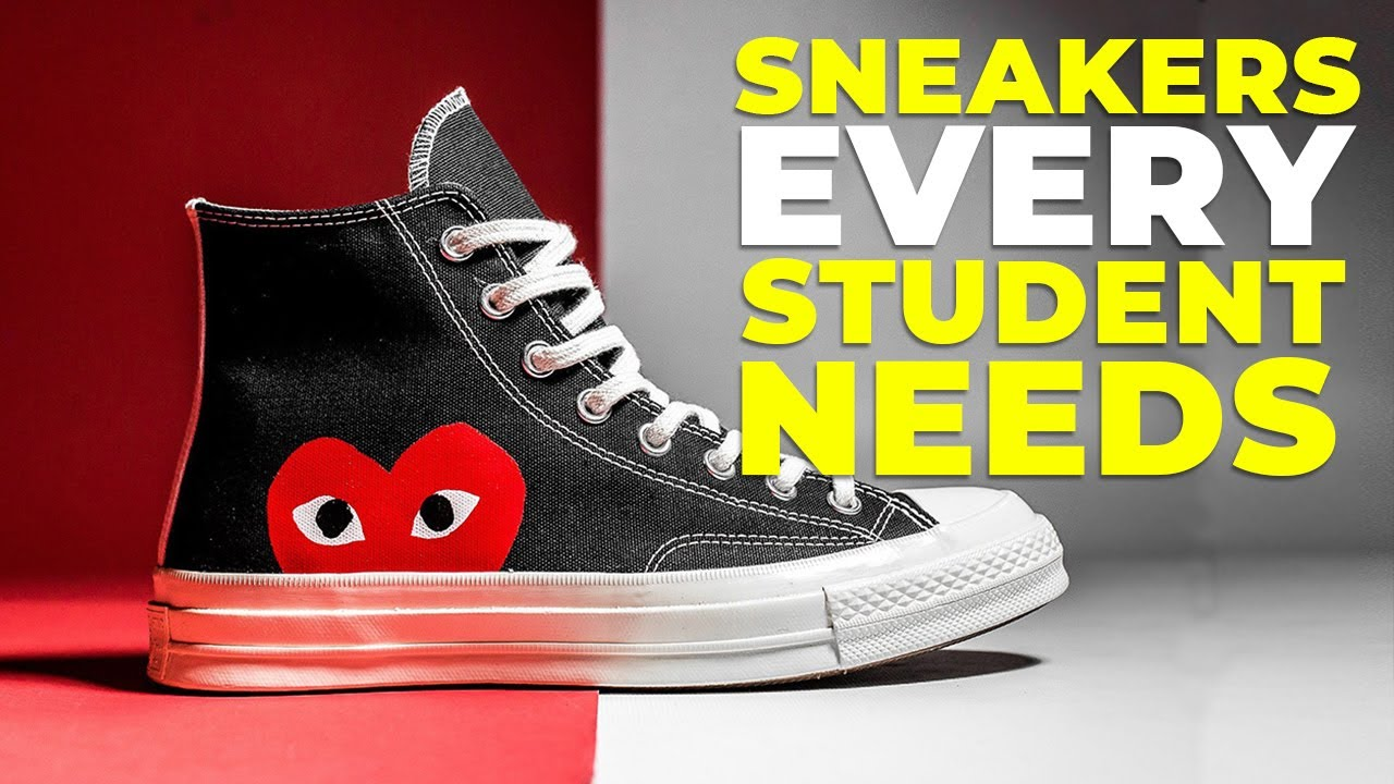 [VIDEO] – BEST SNEAKERS FOR SCHOOL | 6 Shoes Every Student Needs 2019 | Alex Costa