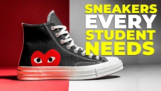 BEST SNEAKERS FOR SCHOOL   6 Shoes Every Student Needs 2019   Alex Costa