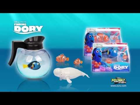 Finding Dory RoboFish  |  Water Activated Robotic Fish