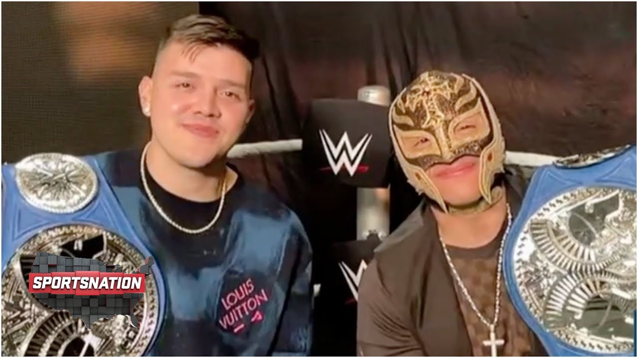 Rey and Dominik Mysterio on becoming the first father-son duo to win WWE SmackDown Tag Team titles