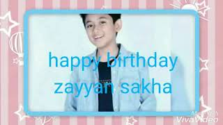 Download Video Happy birthday zayyan sakha yang ke-12 tahun MP3 3GP MP4