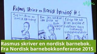 Rasmus skriver en nordisk børnebog