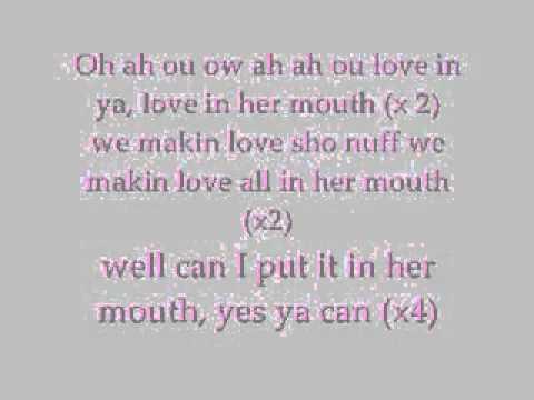 Love in your mouth Kilo Ali  Lyrics