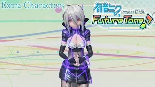 Hatsune Miku: Project Diva Future Tone - All Extra Characters Outfit Modules [English, Full 1080p]