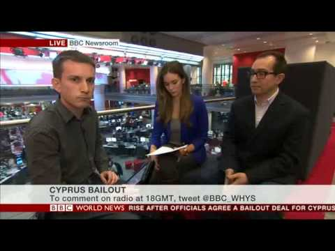 BBC World News 'World Have Your Say' on Cyprus crisis