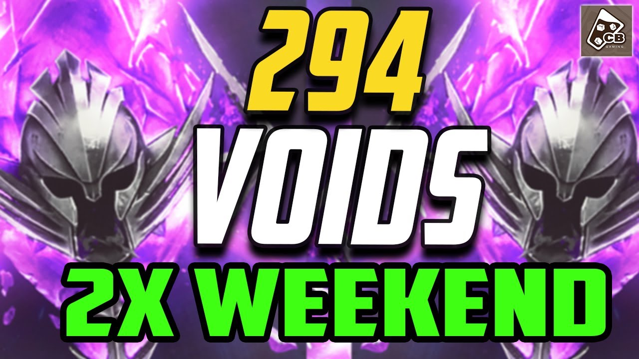 294 VOID SUMMONS - TOP TIER VOID LEGENDARIES SUMMOEND!! | RAID SHADOW LEGENDS