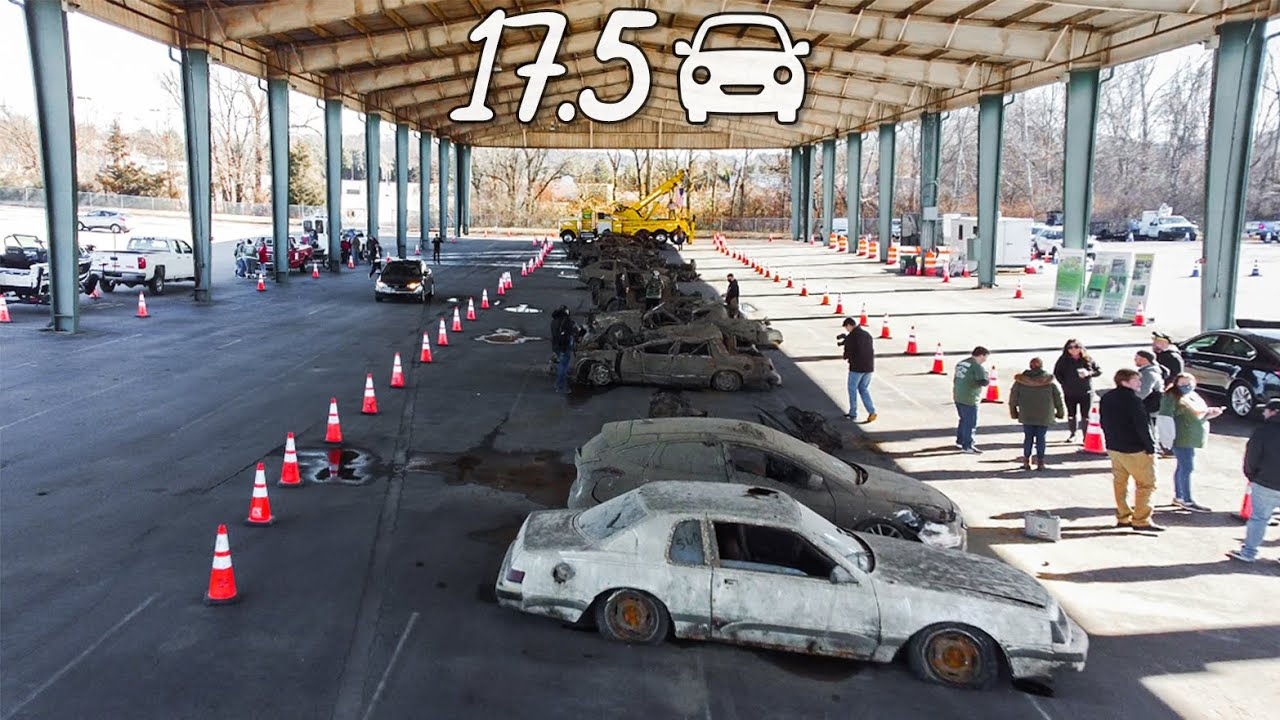 17.5 Stolen CARS FOUND IN RIVER On Display at Meet-n-Greet