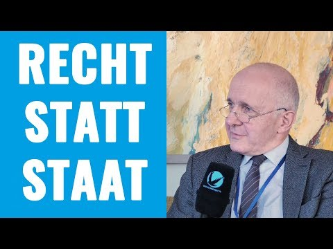 Recht statt Staat - Prof. Dr. David Dürr im Interview