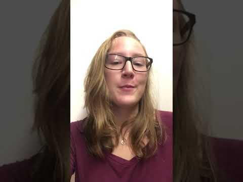 Professor O'Malley's Impromptu Speech critique by Lydia Rutledge