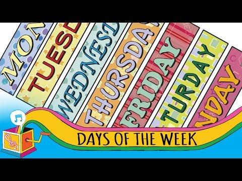 Days of the Week | Animated Karaoke