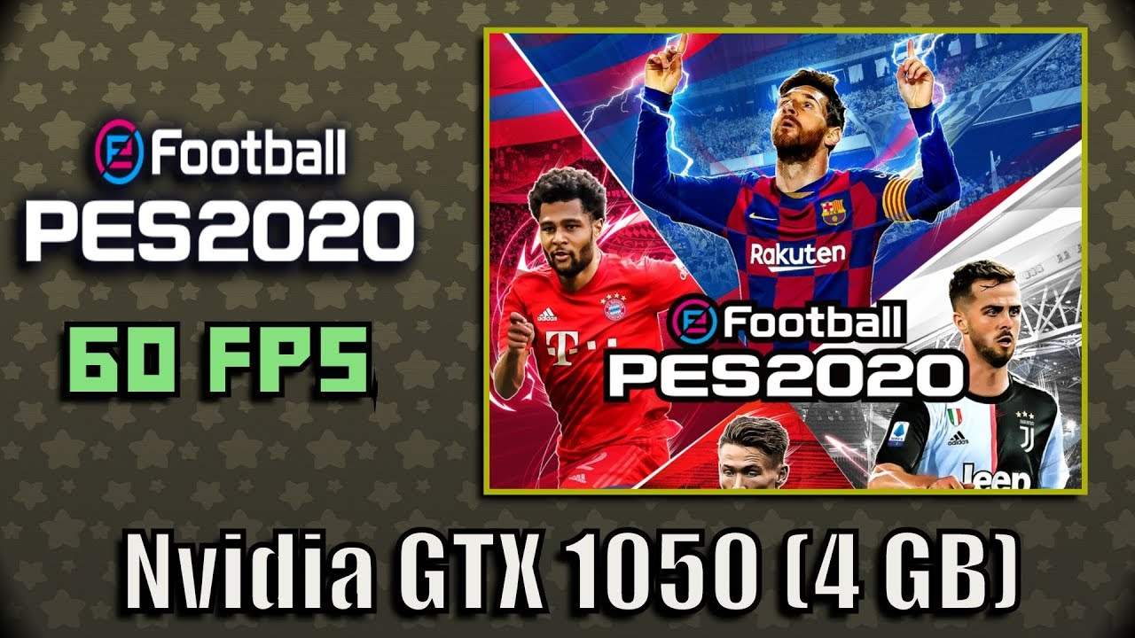 eFootball PES 2020 Gameplay (Demo) | Nvidia GTX 1050 (60 FPS)