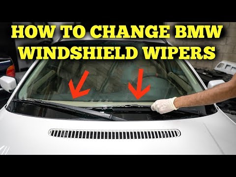 BMW E46 Windshield Wipers Replacement DIY