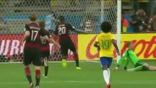 Brazil 1 - 7 Germany (Brazilian commentary)