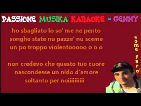 FRANCO STACO Come faro karaoke