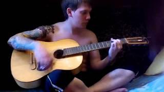 Linkin Park - The Messenger(срок обучения на гитаре 1 неделя)