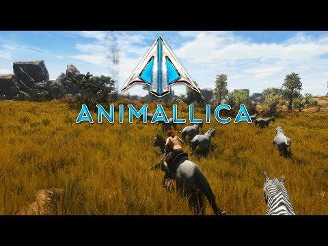 Animal Extinction Survival Game   Animallica   Open World Survival Game - Alpha Gameplay #1
