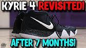 Nike Kyrie 4 Decades Pack 70s Amarillo Black-Sail  9ca01b85e