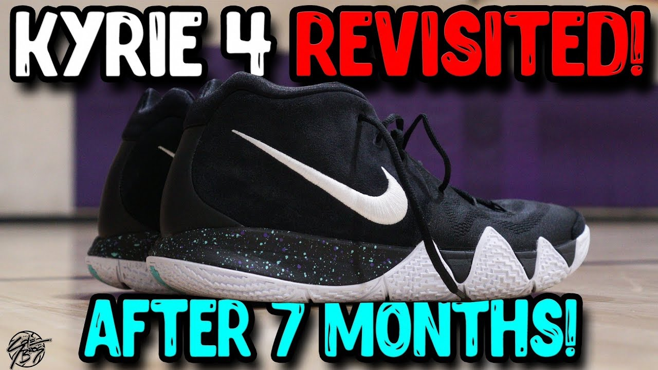 649277fa9c Nike Kyrie 4 Revisited! How is it After 7 Months!? The Sole Brothers