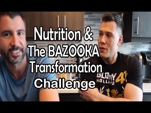 Building Hurting Bombs! - Nutrition & Bazooka Transformation Challenge - Episode #6