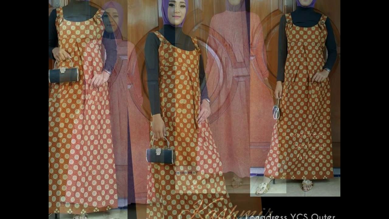 Wa 0812 2533 6662 Fashion Hijab Memakai Batik Desain Baju Batik 486f9ec637