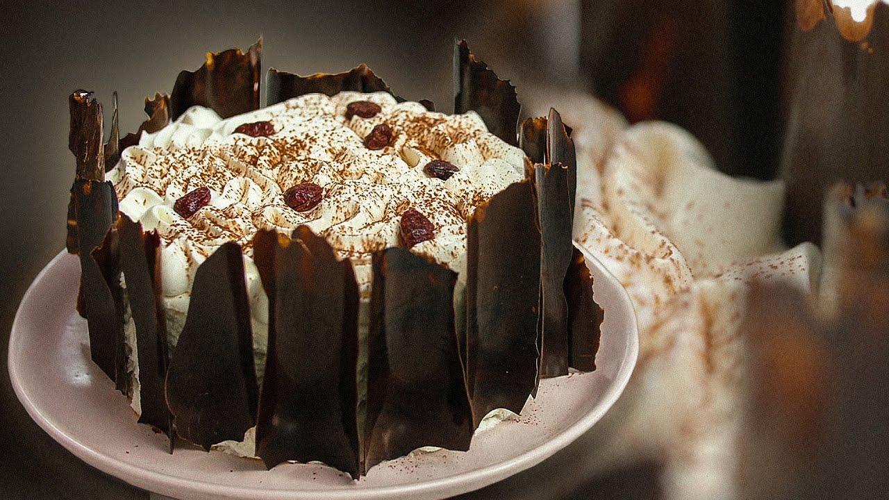 Волшебный торт ЧЕРНЫЙ ЛЕС 🎂 То, что вы хотели! Самый вкусный ШОКОЛАДНЫЙ ТОРТ с вишней 🍒от Глинской😋