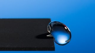 Using Lasers to Create Super-hydrophobic Materials thumbnail