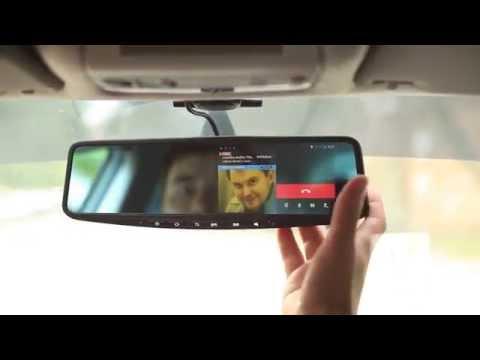 Зеркало заднего вида на Android - JIMI 600 ОБЗОР