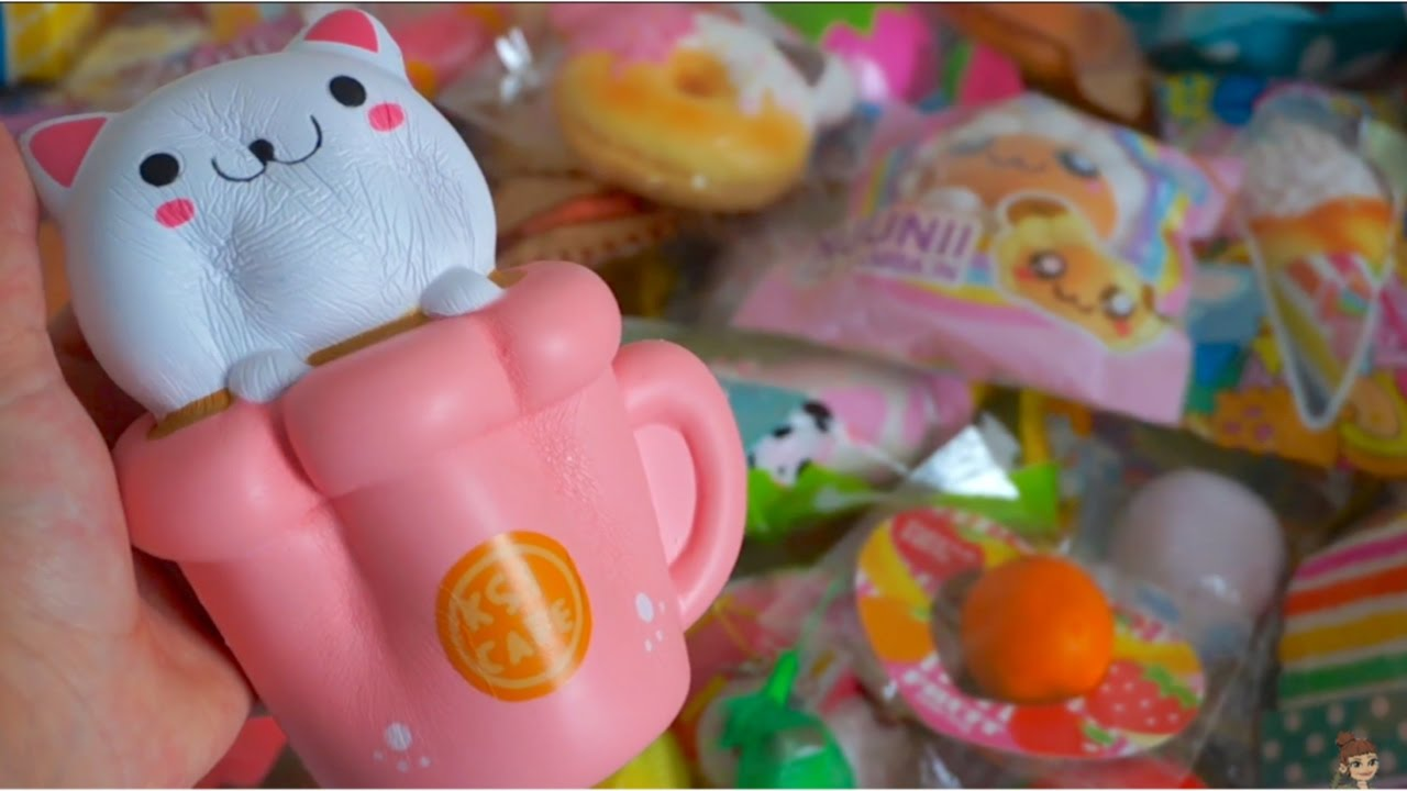 Squishy Collection 2017 :  SLOW RISING  SQUISHY COLLECTION 2017 - YouTube
