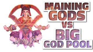 maining a god vs big god pool smite