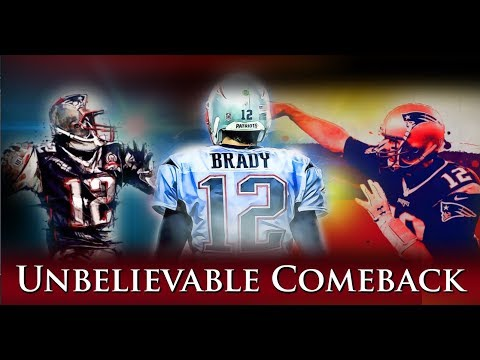 Tom Brady - Unbelievable Comeback Versus 2013 Saints