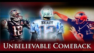 Tom Brady - Unbelievable Comeback Versus 2013 Saints