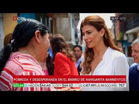 Así se sufre la crisis en el barrio de Margarita Barrientos