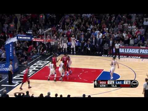 Houston Rockets vs Los Angeles Clippers | January 18, 2016 | NBA 2015-16 Season