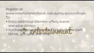 Entertainment Book - 2015 _ 2016 Entertainment Book Registration Prize