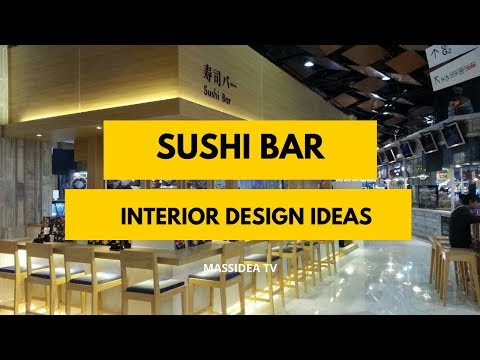 100+ Best Sushi Bar Interior Design Ideas in The World