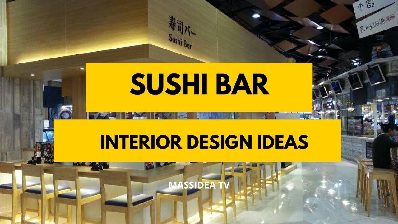 Best Sushi Bar Interior Design Ideas In