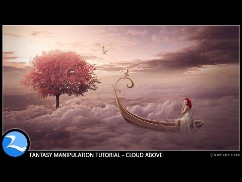 Fantasy Art Photo Manipulation Photoshop Tutorial [Above Cloud]
