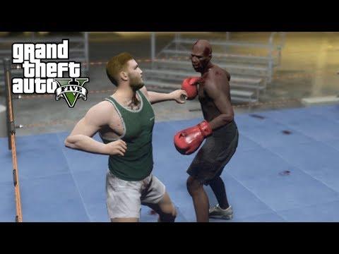 Floyd Mayweather vs Conor McGregor Pelea en GTA 5!! - Grand Theft Auto V