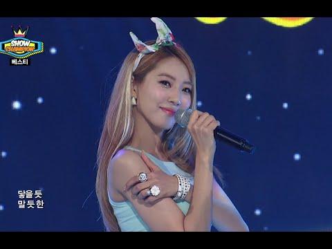 BESTie - HOT BABY, 베스티 - 핫 베이비, Show Champion 20140730