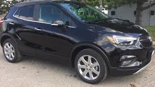 Ebony Twilight Metallic 2018 Buick Encore AWD 4dr Premium Review Oshawa null - Mills Motors Buick GM