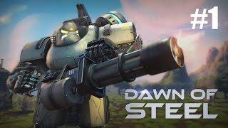 MIT ROBOTERN IN DEN KRIEG - Neues Game am Start! ✭ Dawn of Steel [deutsch / german]