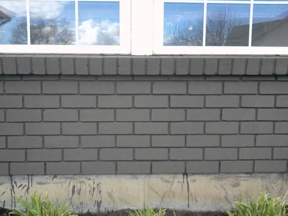 Brick staining youtube for Staining brick exterior pictures