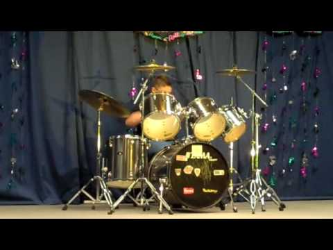drum solo by  11 year old #1