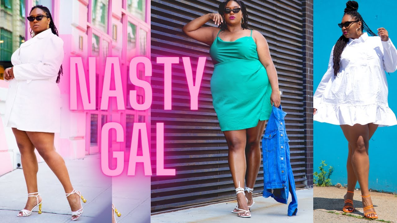 PLUS SIZE NASTY GAL TRY ON HAUL| First Impressions| #Plus size Fashion