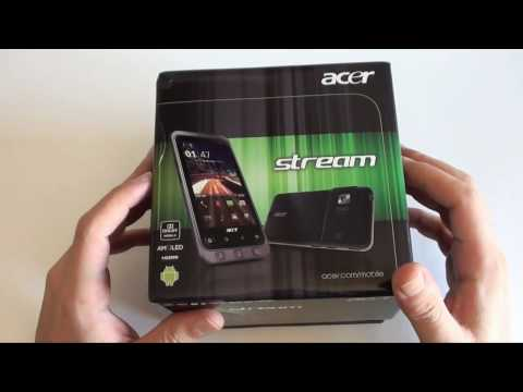 Acer Stream Unboxing