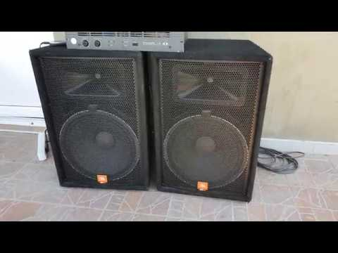 Jbl Jrx115 2x500w Youtube