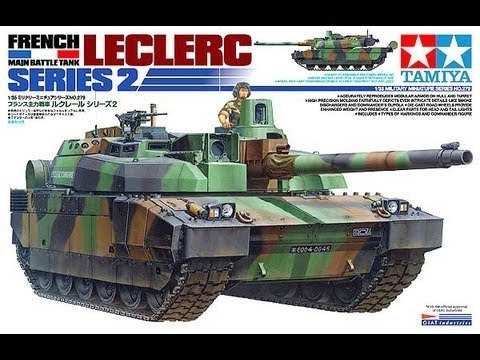 5 2013 tamiya 1 35 scale leclerc mbt inbox review youtube. Black Bedroom Furniture Sets. Home Design Ideas